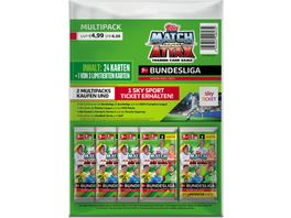 Topps Bundesliga Match Attax 20 21 Multipack