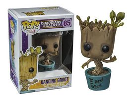 Funko POP Marvel Guardians of the Galaxy Dancing Groot I am Groot Bobble Head Figur