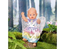 Zapf Creation BABY born Einhorn Feen Outfit 43cm Ein zauberhaftes Kleid mit zarten Fluegelchen