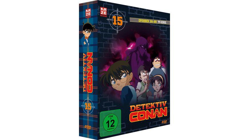 Detektiv Conan TV Serie DVD Box 15 Episoden 384 408 5 DVDs