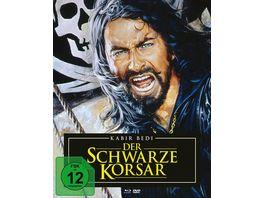 Der schwarze Korsar Mediabook Blu ray 2 DVDs