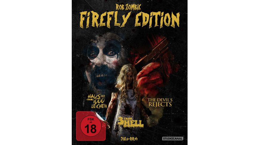 Rob Zombie Firefly Edition  [3 BRs]