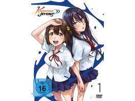 Kandagawa Jet Girls Vol 1 2 DVDs