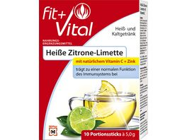 Fit Vital Heisse Zitrone Limette Sticks
