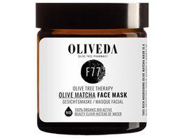 OLIVEDA Face Mask Olive Matcha