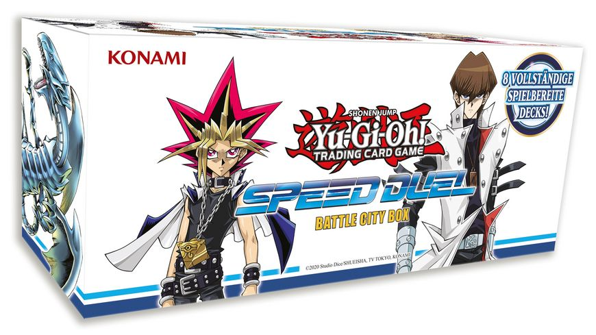 Yu Gi Oh Sammelkartenspiel Speed Duel Battle City Box