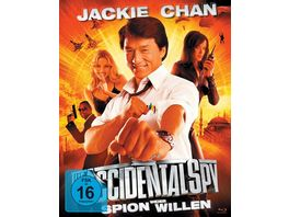Jackie Chan Spion Wider Willen Mediabook 2 BRs