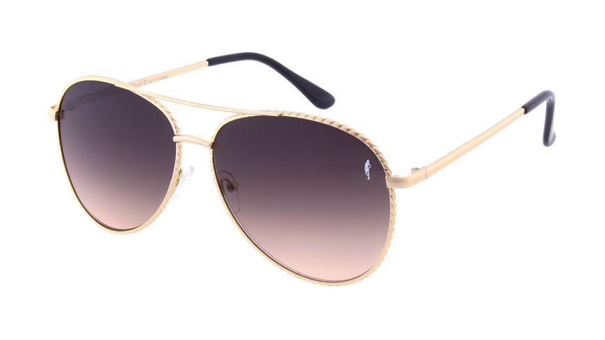 GNTM Sonnenbrille Pilot in Gold