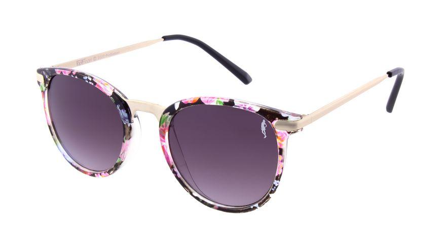 GNTM Sonnenbrille mit Floralem Muster