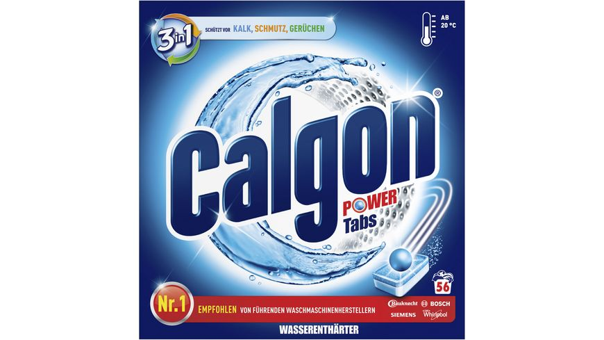 Calgon 3in1 Power Tabs