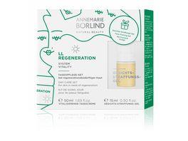ANNEMARIE BOeRLIND LL REGENERATION TAGESPFLEGE SET bei regenerationsbeduerftiger Haut