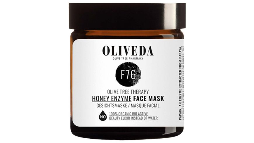 OLIVEDA Face Mask Honey Enzyme