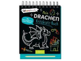 Mein Drachen Kritzkratz Buch mit ueberraschenden Kratz Effekten