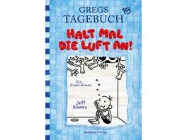 Gregs Tagebuch 15 Halt mal die Luft an