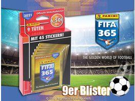 Panini FIFA 365 Saison 2020 2021 Sticker 9er Blister