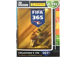 Panini FIFA 365 Saison 2020 2021 Sticker Compact Tin Dose