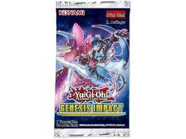 Yu Gi Oh Sammelkartenspiel Genesis Impact Booster
