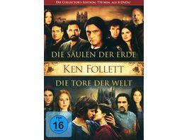 Die Saeulen der Erde Die Tore der Welt 8 DVDs