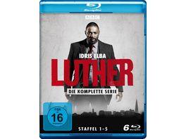 Luther Die komplette Serie Staffel 1 5 LTD 6 BRs