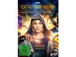 Doctor Who Die kompletten Staffeln 11 und 12 inkl New Year Special LTD 9 DVDs