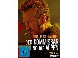 Rocco Schiavone Der Kommissar und die Alpen Staffel 1 2 LTD 5 DVDs