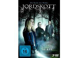 Jordskott Die Rache des Waldes Die komplette Serie LTD 7 DVDs