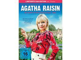 Agatha Raisin Die kompletten Staffeln 1 3 Limited Fan Edition inkl Poster LTD 7 DVDs