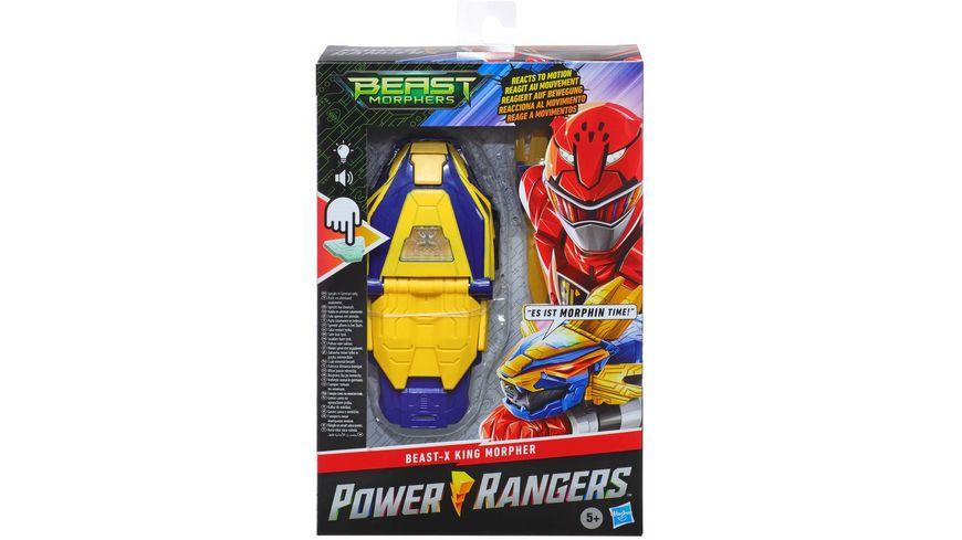 Hasbro Power Rangers Beast Morphers Beast X King Morpher