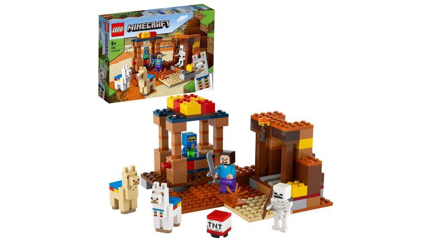 LEGO Minecraft - 21167 Der Handelsplatz