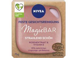 NIVEA MagicBAR Feste Gesichtsreinigung mit Rosenextrakt Vitamin C