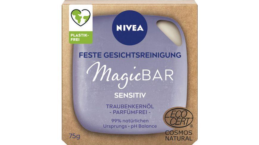 NIVEA MagicBar Sensitiv 75g COSMOSNatCert