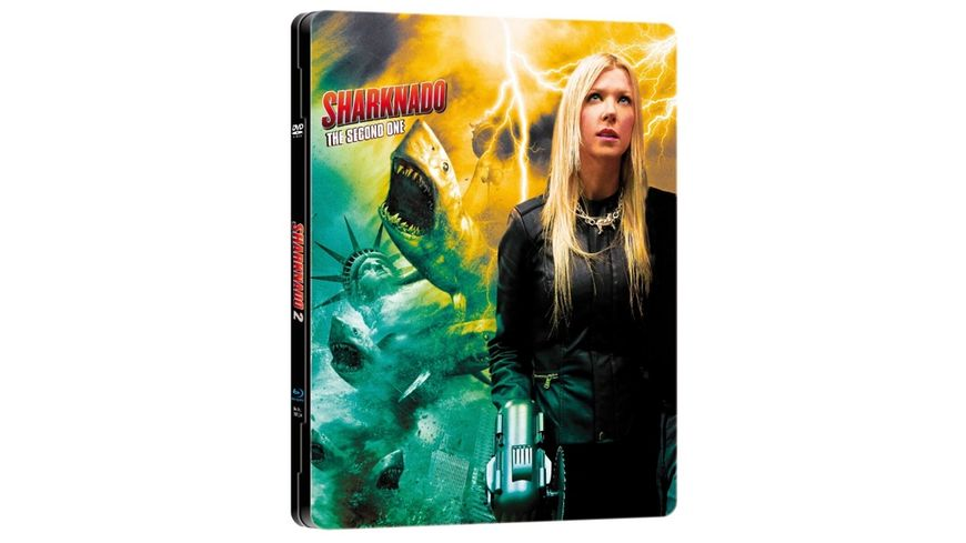 Sharknado 2 -  Limited Steel Edition (limitiert auf 1.000 Stück, durchnummeriert)  [+ DVD]