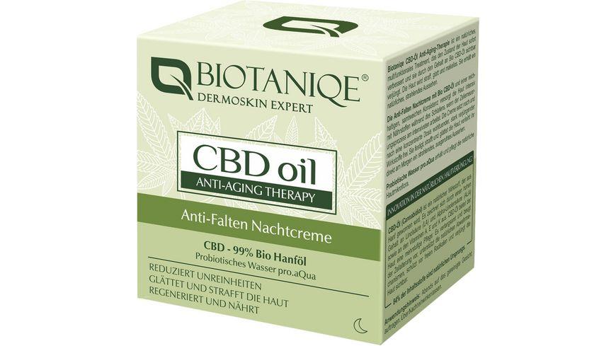Biotaniqe CBD Anti-Wrinkle Night Cream