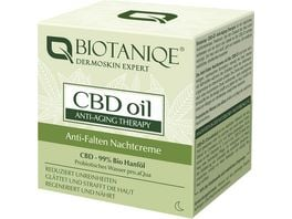 Biotaniqe CBD Anti Wrinkle Night Cream