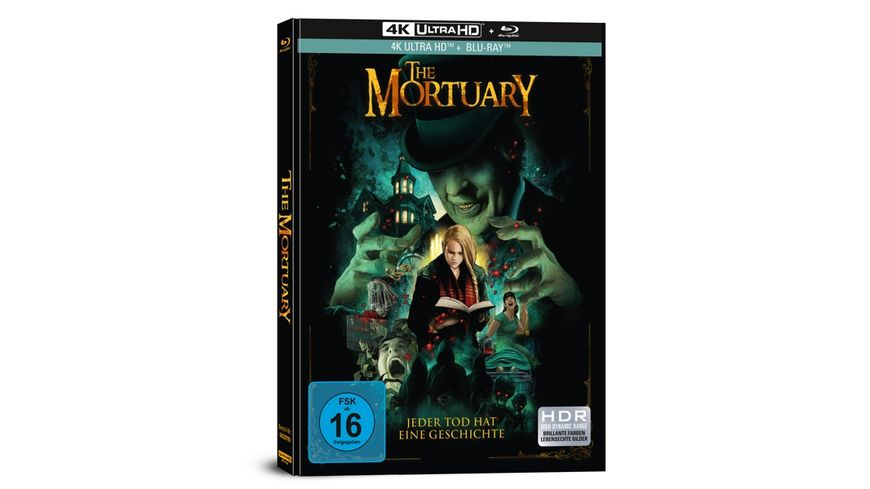The Mortuary - Jeder Tod hat eine Geschichte - 2-Disc Limited Collector's Edition im Mediabook (4K Ultra HD) (+ Blu-Ray)