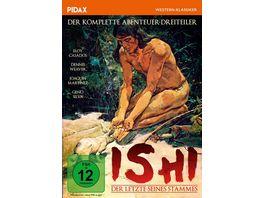 Ishi Der Letzte seines Stammes Der komplette Abenteuer Dreiteiler Pidax Western Klassiker