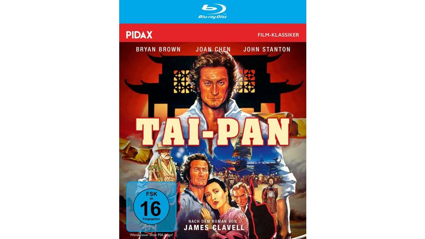 Tai-Pan / Abenteuer-Epos nach dem Bestseller von James Clavell (Pidax Film-Klassiker)