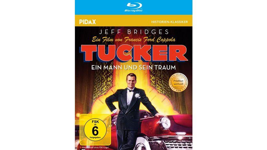 Tucker - Ein Mann und sein Traum / Francis Ford Coppolas preisgekrönte Lebensgeschichte von Preston Tucker (Pidax Historien-Klassiker)