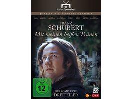 Mit meinen heissen Traenen Der komplette Dreiteiler ueber Franz Schubert Fernsehjuwelen 2 DVDs