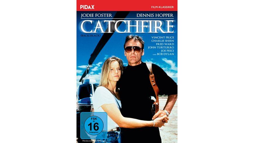 Catchfire (Backtrack) / Spannender Roadmovie-Thriller mit absoluter Starbesetzung (Pidax Film-Klassiker)
