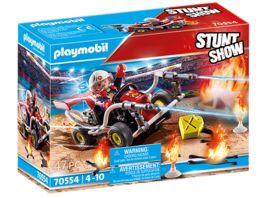 PLAYMOBIL 70554 Stuntshow Feuerwehrkart