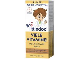 mylittledoc VIELE VITAMINE Multivitamin Sirup