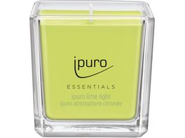 ipuro Kerze Essential Lime Light