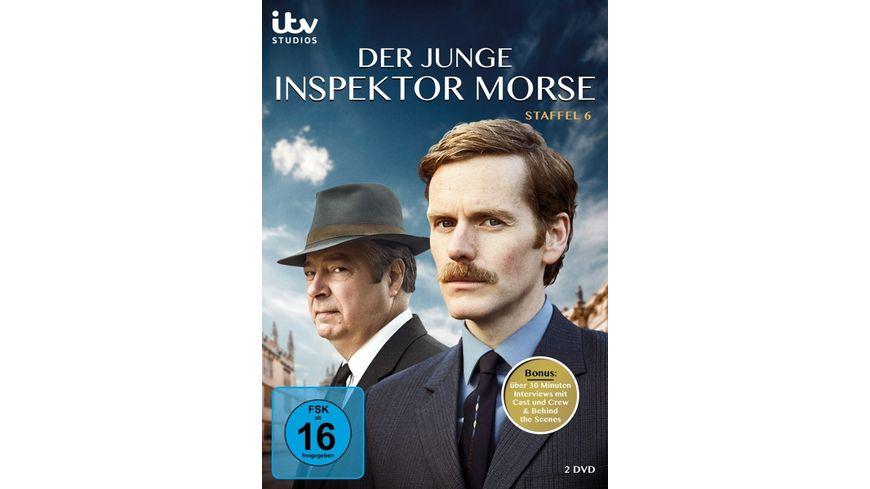 Der junge Inspektor Morse - Staffel 6  [2 DVDs]