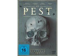Die Pest Die kompletten Staffeln 1 und 2 LTD 4 DVDs