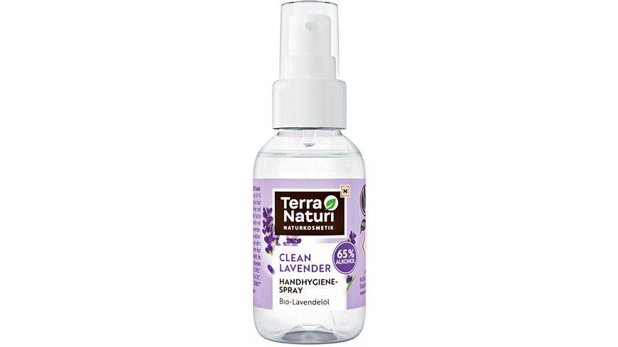 Terra Naturi CLEAN LAVENDER Reinigendes Handhygiene-Spray