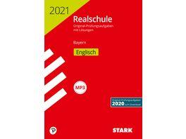Original Pruefungen Realschule 2021 Englisch Bayern nur online erhaeltlich