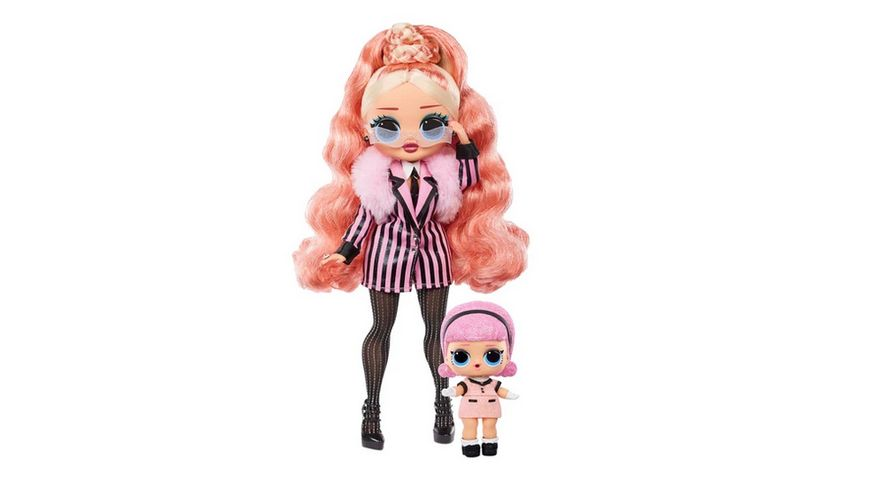 LOL Surprise O M G Winter Chill Big Wig Fashion Doll Madame Queen Puppe mit 25 Ueberraschungen