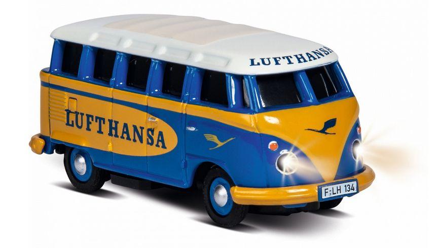Carson 1 87 VW T1 Samba Bus Lufthansa 2 4G RTR