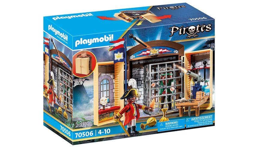 "PLAYMOBIL 70506 - Spielbox ""Piratenabenteuer"""